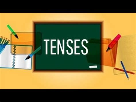 What tense is a report written in